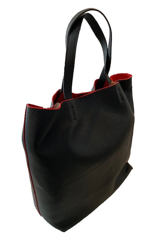 PERONI Soft Shopper P028 - Black/Red