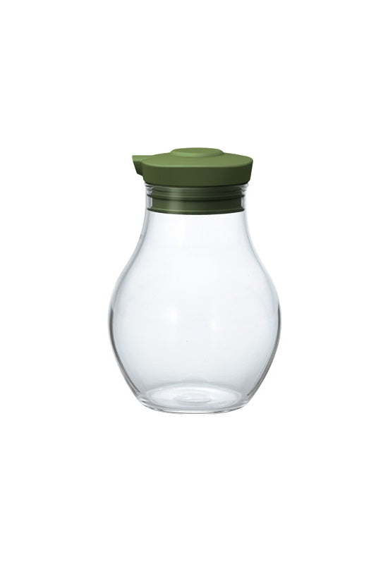 HARIO Soy Sauce Container 180ml Olive Green OMPS-180-OG