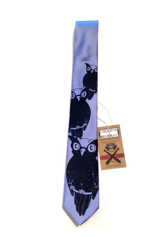 CYBEROPTIX TIE LAB Tie - Night Owl