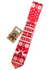 CYBEROPTIX TIE LAB Tie - Ugly Christmas Sweater (Red)