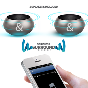 X2 Wireless Surround Speakers