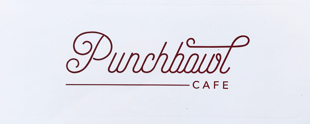 Punchbowl Vinyl Decal Small