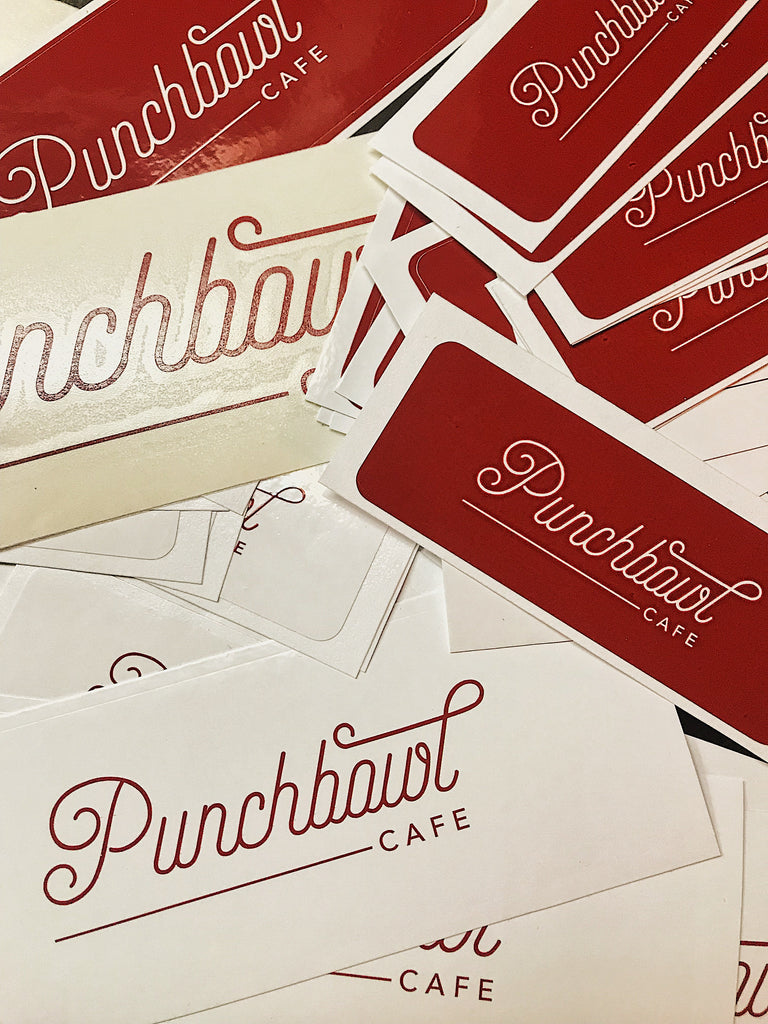 Punchbowl Vinyl Decal Large