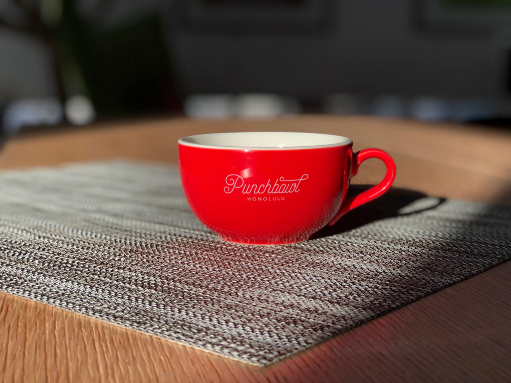 Punchbowl Coffee Cup