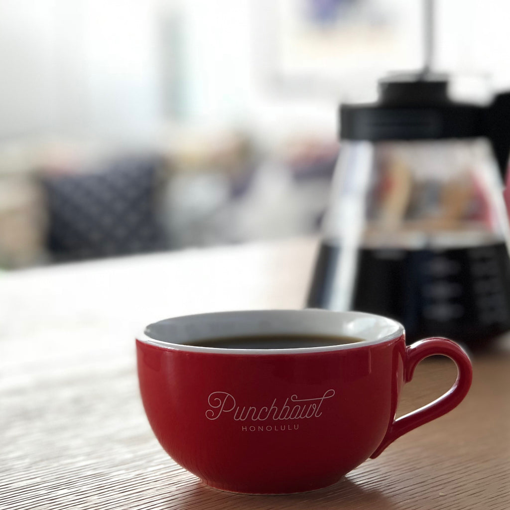 Punchbowl Coffee Cup 8oz