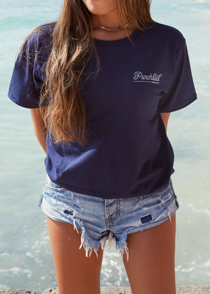 Crusin' in Paradise T Navy