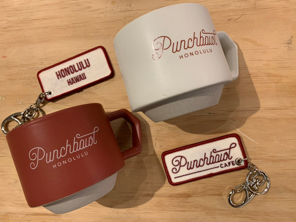 Original Punchbowl Cafe Keychain