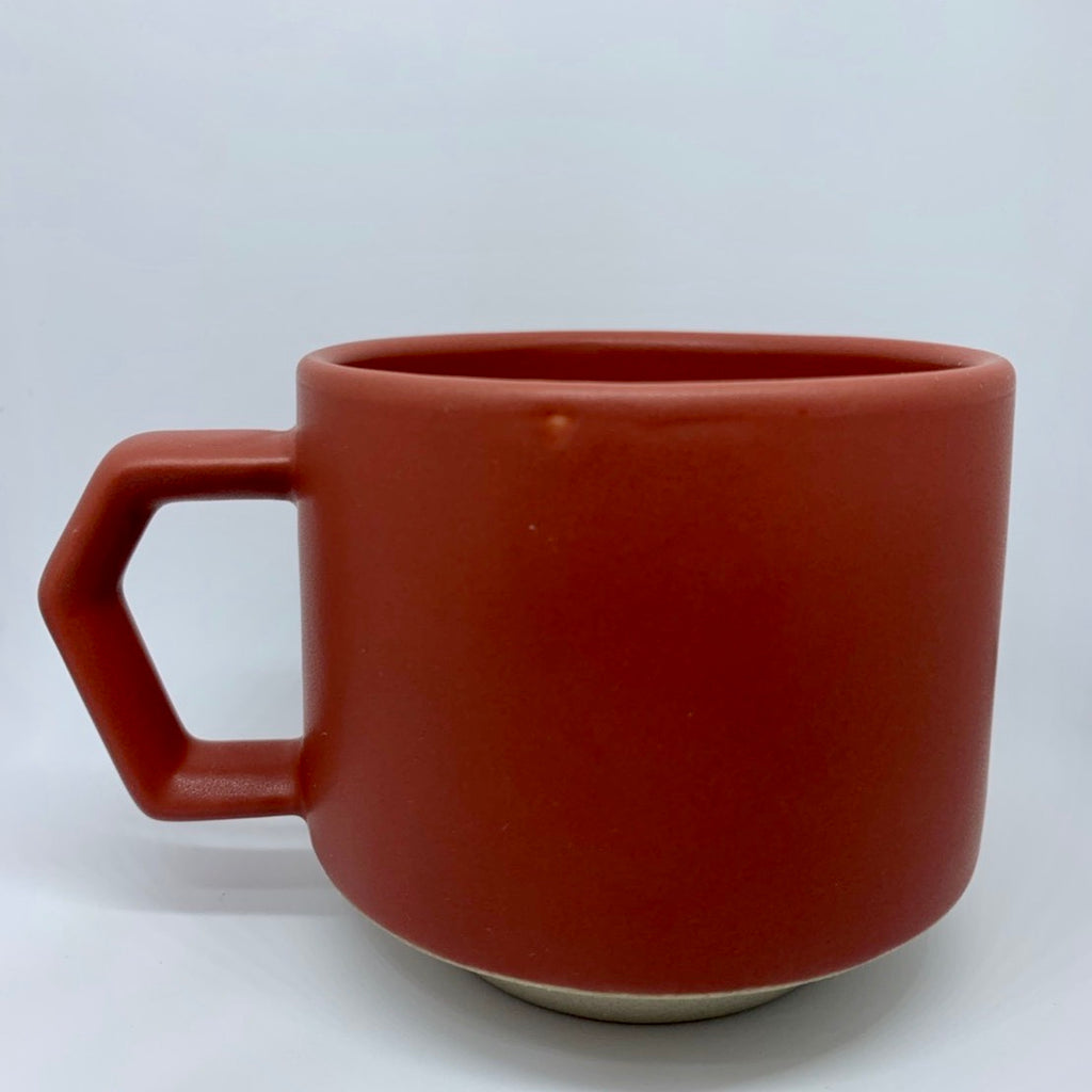 Original Punchbowl Burgundy Red Coffee Cup 280ml / 9.85 oz