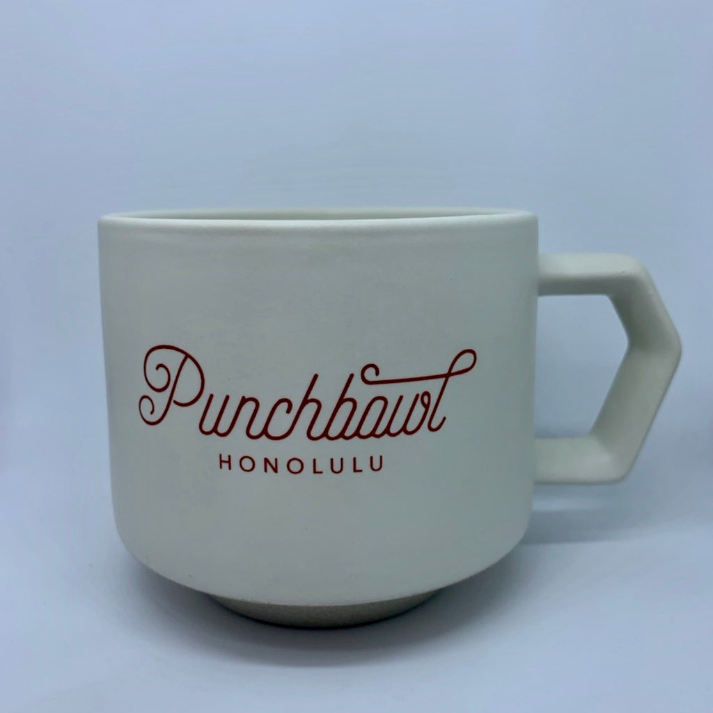 Original Punchbowl Off White Coffee Cup 280ml / 9.85 oz