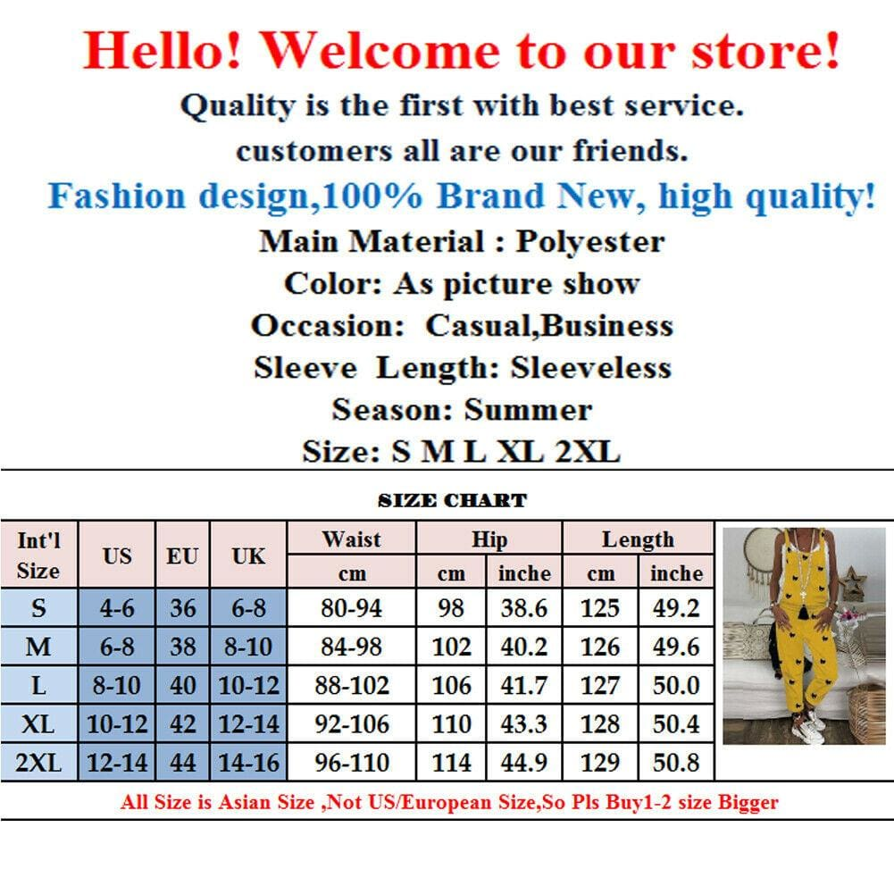 The Best 2019 Fashion Women's Casual Loose Jumpsuit Dungarees Playsuit Strappy Baggy Romper Loose Long Pant Trousers Overalls Online - Source Silk