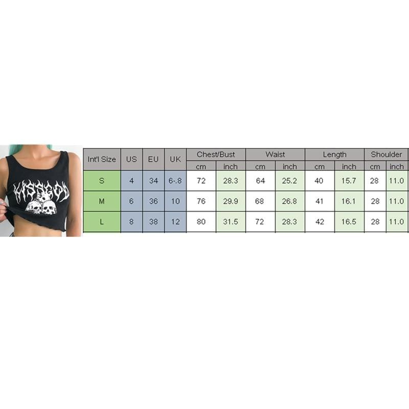 The Best 2019 New Sexy Women's Casual Slim Tank Top Vest Blouse Sleeveless Print Crop Top Shirt Cami Top Summer Clothes Online - Hplify