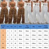 Buy Cheap 2PCS Women Polka Dot Outfits Jumpsuits Wrap Chest Crop Tops + Wide Leg Long Pants Casual Summer Beach Jumpsuit Romper Online - Hplify