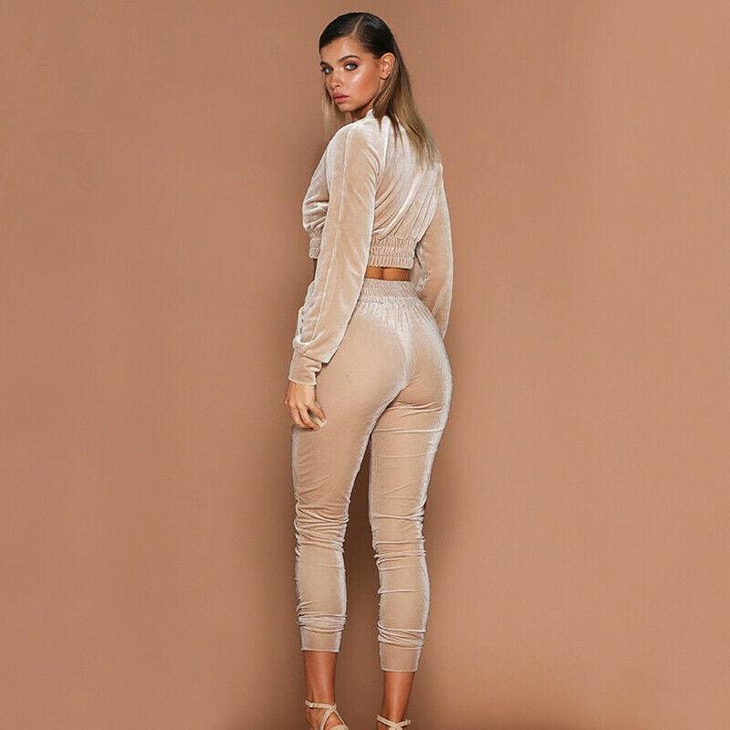 The Best 2Pcs Women Tracksuit Hoodies Sweatshirt Pants Sets Sexy Wear Casual Suit Ladies Womens Warm Long Sleeve Clothing Online - Hplify