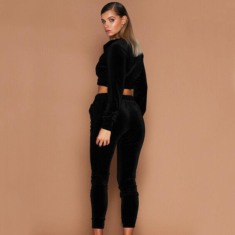 Buy Cheap 2Pcs Women Tracksuit Hoodies Sweatshirt Pants Sets Sexy Wear Casual Suit Ladies Womens Warm Long Sleeve Clothing Online - Hplify