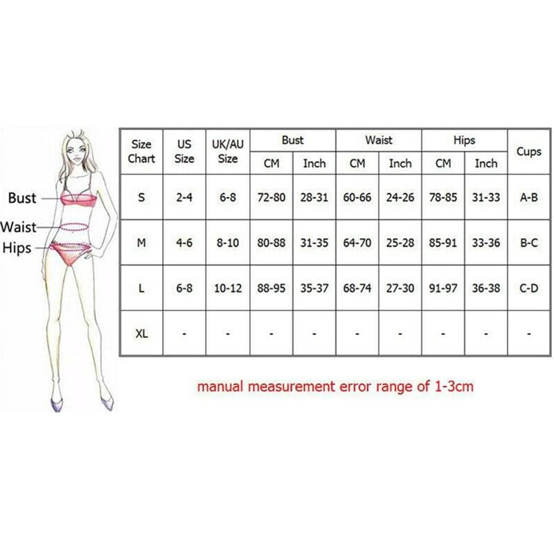The Best 2Pcs Women's Ruffles Swimwear Bandage Knitted Bra Thong Bikini Set Push-up Unpadded Bathing Suits Swimsuit Beachwear Online - Hplify