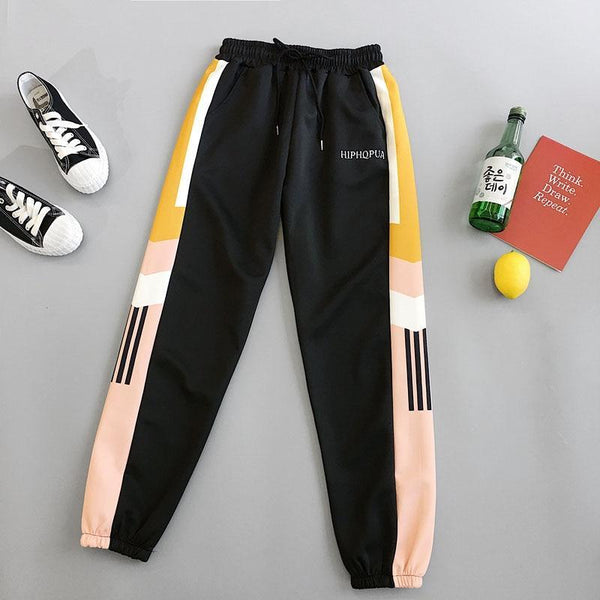 Streetwear Joggers Women Female Spring Summer Sports Harem Pants Harajuku hiphop student Loose Casual Trousers