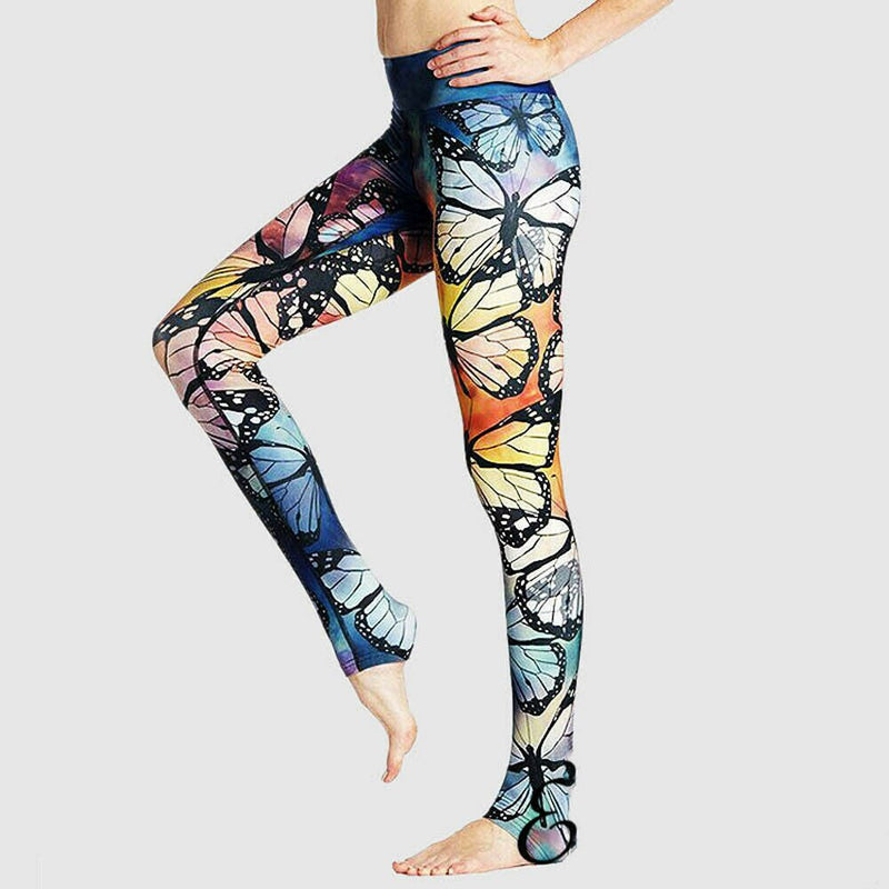 Womens Sport Pants Gym Scrunch Trousers Fitness Leggings Sport Stretchy Trousers