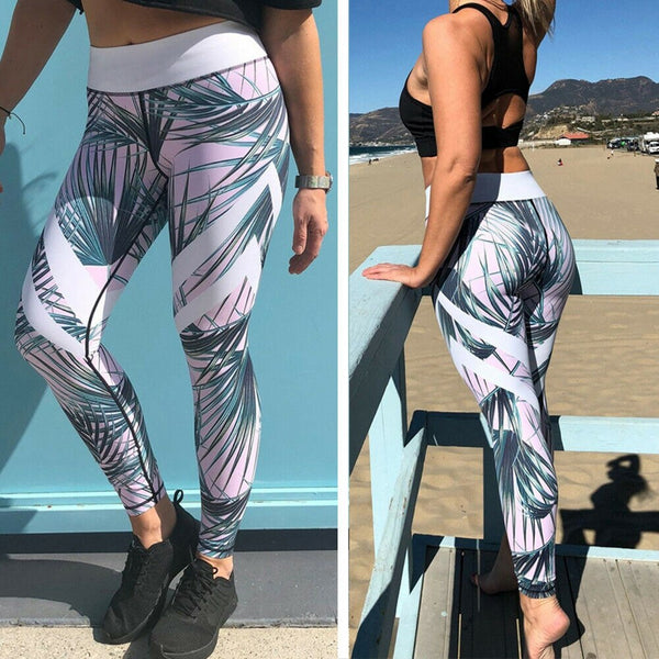 The Best Women Stretch Sports Running Gym Push Up Fitness Leggings Workout High Waist Long Skin Jogging Pants Trousers Online - Hplify