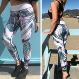 Women Stretch Sports Running Gym Push Up Fitness Leggings Workout High Waist Long Skin Jogging Pants Trousers