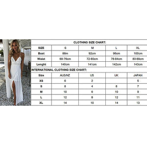 Women Summer Boho Party Beach Sleeveless White Color Backless Dresses Ladies High Waist Long Maxi Dress Sundress - Hplify