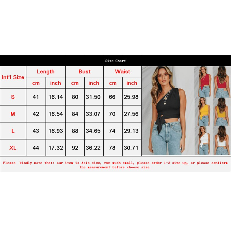 The Best Women Summer Casual Off Shoulder Tank Top Vest Fashion Bowknot Sleeveless Crop Top Shirt Beach Holiday Solid Short Tops New Online - Hplify