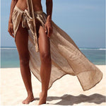 Women Swimwear Bikini Beach Wear Cover Up Swimsuit Wrap Skirt Sarong Beach Dress - Hplify