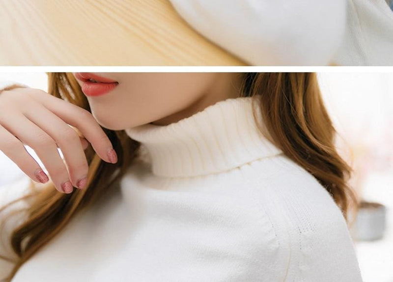 The Best Autumn Winter Cashmere Knitted Women Sweater And Pullover Female Online - Hplify