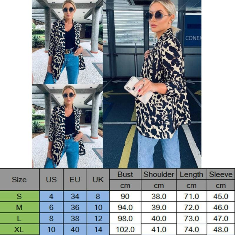 Autumn Women OL Work Blazer Suit Ladies Long Sleeve Slim Casual Jacket Coat Outwear Top Career Formal Long Coat - Womens Clothing