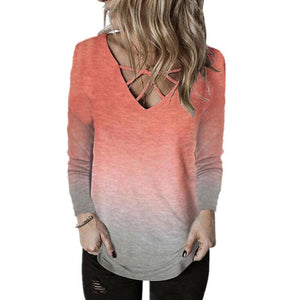 Women Casual Jumper Baggy Pullover Top Sleeve T-shirt Plus Size Tunic Loose Long
