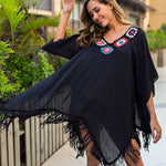 Buy Cheap Beachwear Swimwear Bikini Beach Wear Cover Up Tassel Ladies Summer Dress Online - Hplify