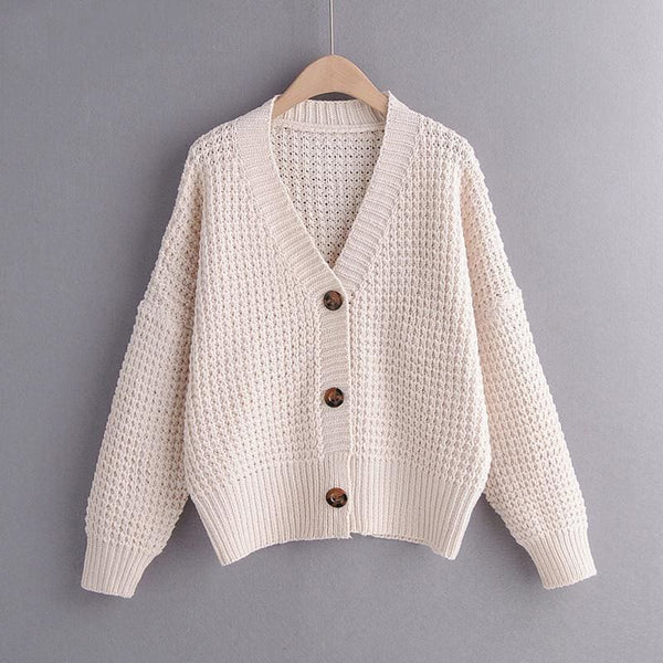 The Best Cardigan Sweater Women Clothes knitted fall Sweaters Online - Hplify