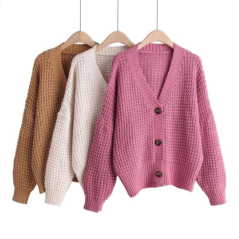 Buy Cheap Cardigan Sweater Women Clothes knitted fall Sweaters Online - Hplify