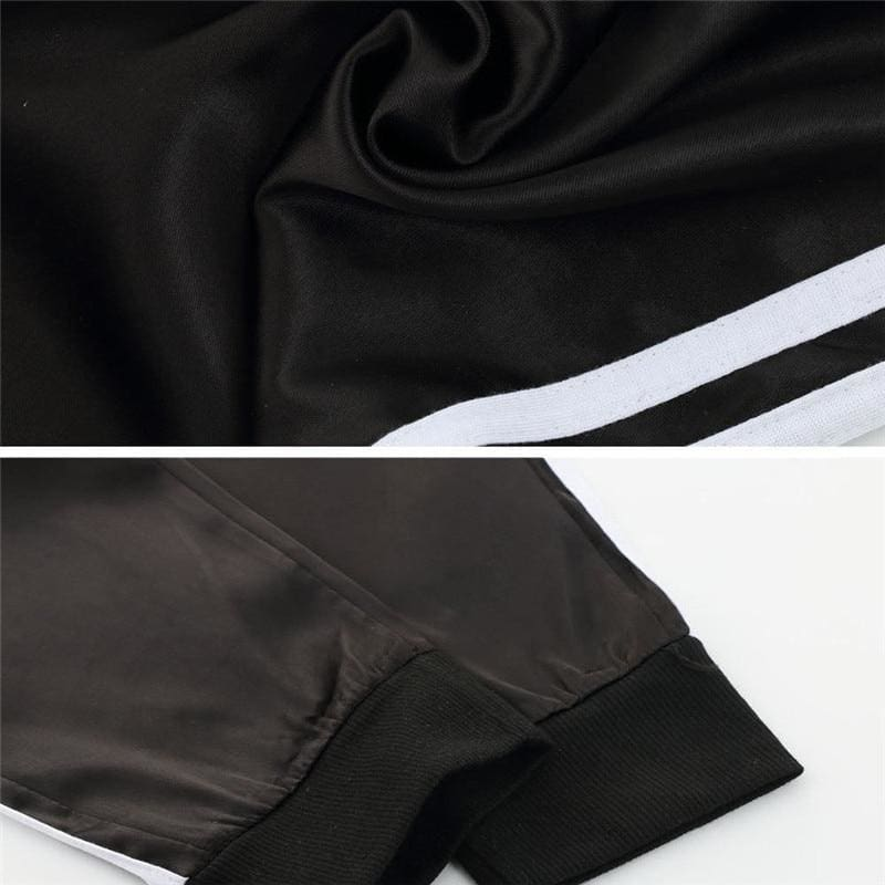 The Best Casual Sport Pants Women Fahion Comfy Fitness Pants Running Gym Sport High Waist Striped Track Jogging Pants Trousers Online - Source Silk