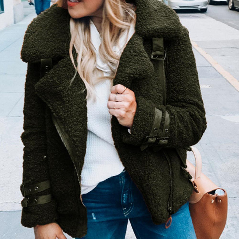 The Best Winter Warm Solid Short Jacket Online - Hplify