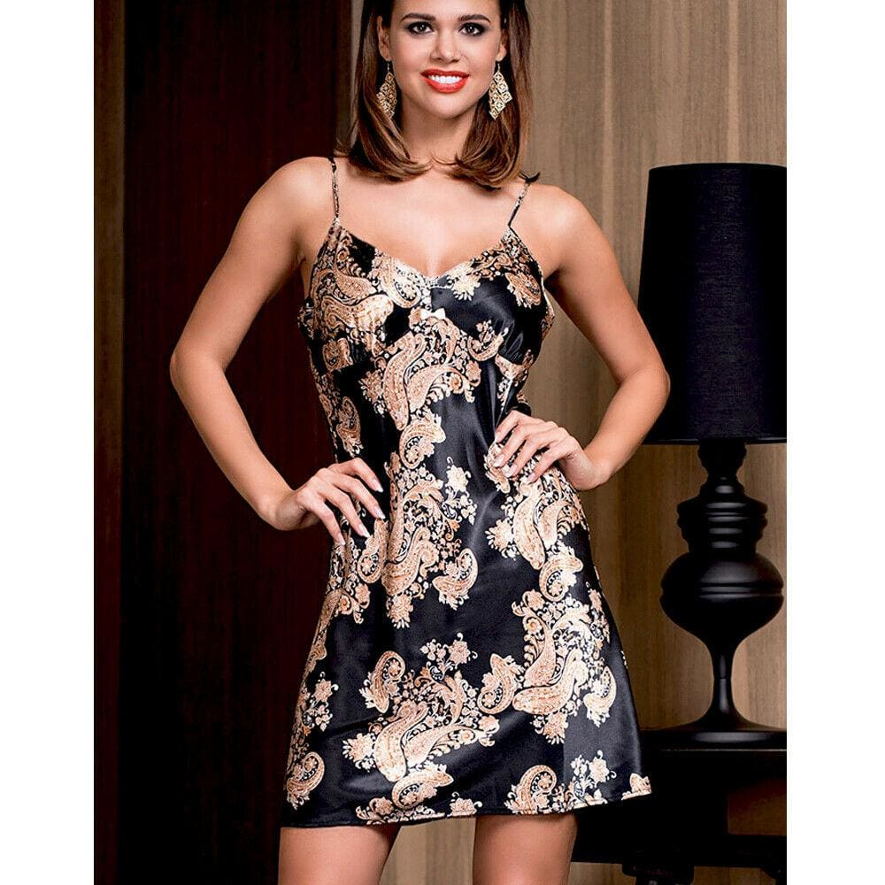 Buy Cheap Fashion Sexy Women Boho Floral Imitation Silk Mini Slip Dress Party Casual Beach Dresses Summer Sundress Online - Hplify