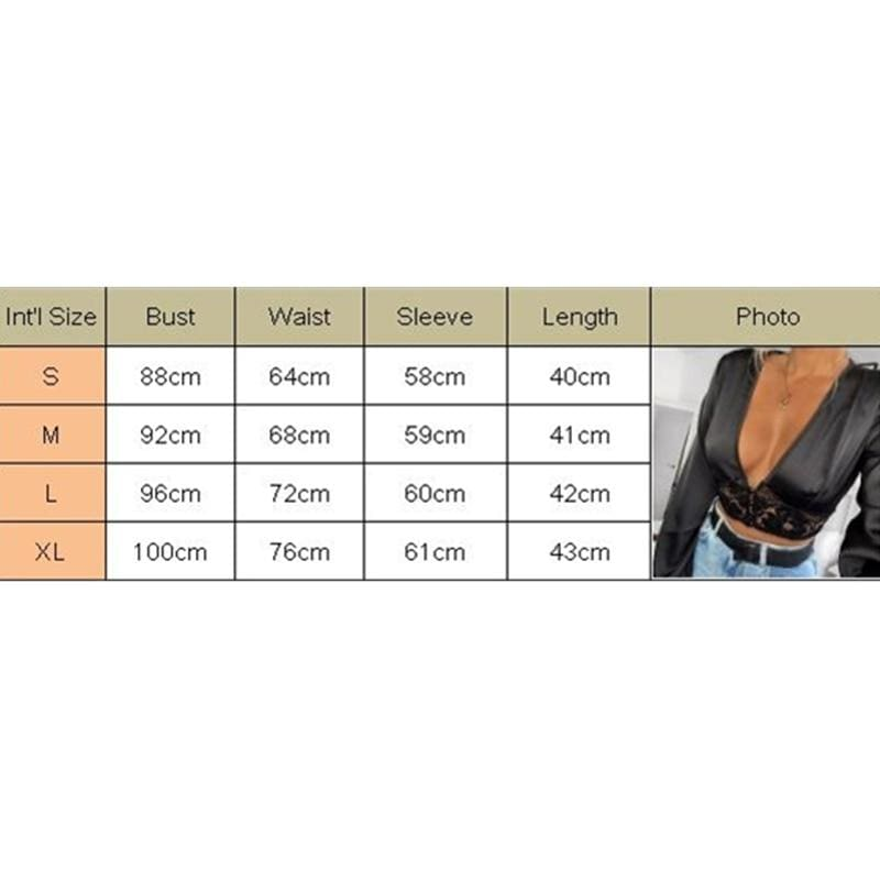 The Best Fashion Women Autumn Blouse Hollow Deep V Neck Lace Crop Top Casual Long Sleeve Tops Ladies Sexy Shirts Outwear Online - Source Silk