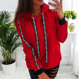 The Best Fashion Women Autumn Winter Top Long Sleeve Sweatshirt Casual Ladies Hooded Hoodies Online - Source Silk