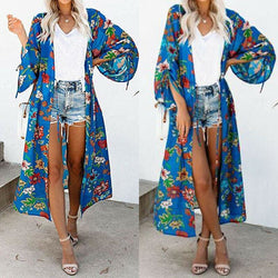 The Best Fashion Women's Bikini Cover Up Swimwear Beach Cardigan Maxi Wrap Skirt Sarong Kimono Kaftan Dress Tops Blouse Online - Source Silk