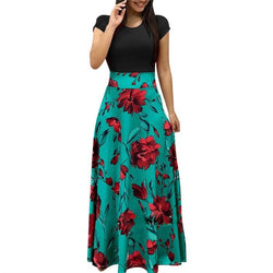 The Best Floral Print Summer Boho Dress Party Dress Long Maxi Dresses Vestidos Online - Source Silk