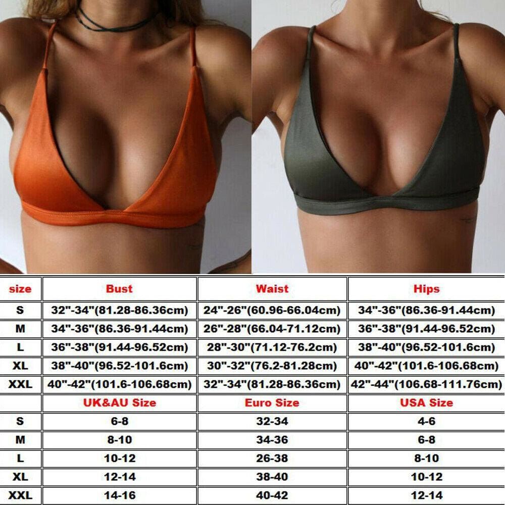The Best Hot Sexy Bikinis Women Swimsuit High Waist Bathing Suits Swim Halter Push Up Bikini Set Padded Bra Bralette Swimwear Tops Online - Source Silk