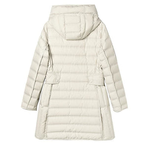 Buy Cheap Lightweight Down Jacket Female White Duck Down Coat Winter Coat Online - Hplify
