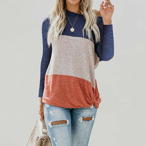 Buy Cheap Long Sleeve Autumn Pullover Blouse Loose Baggy Jumper Shirt Top Online - Hplify