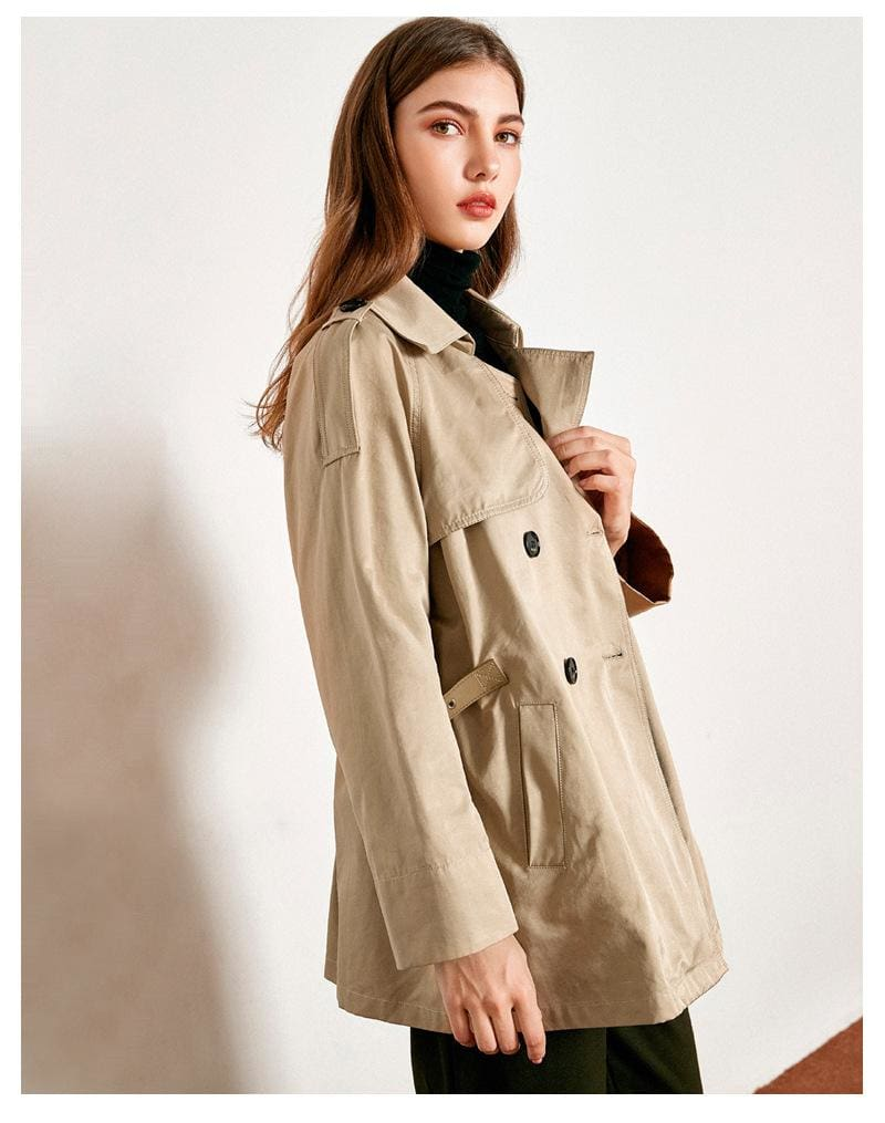 The Best Loose Korean Temperament Short Coat Female Outercoat Online - Hplify