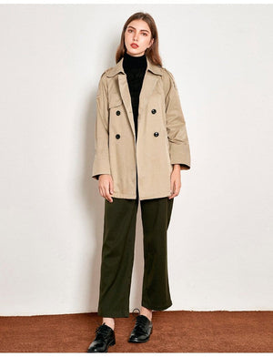Buy Cheap Loose Korean Temperament Short Coat Female Outercoat Online - Hplify