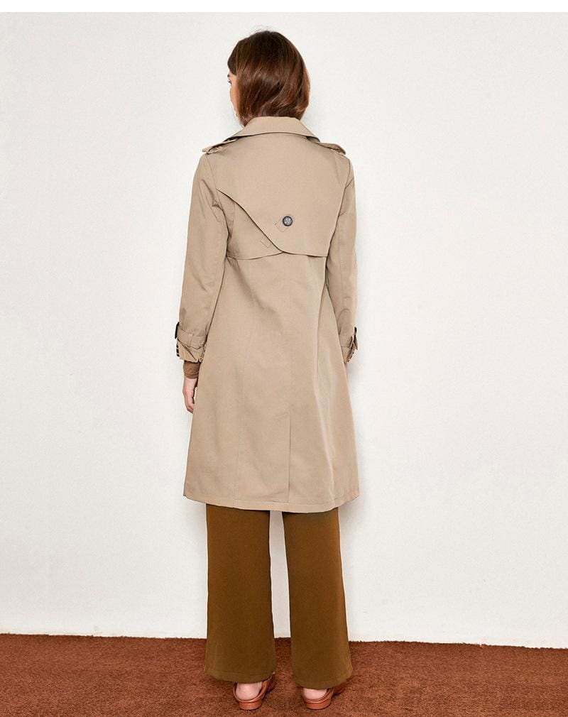 The Best Loose Ties Long Outercoat Casual Coat Online - Hplify