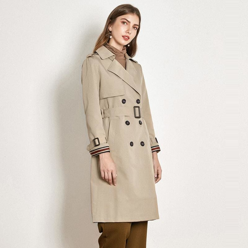 Loose Ties Long Outercoat Casual Coat - Outercoat
