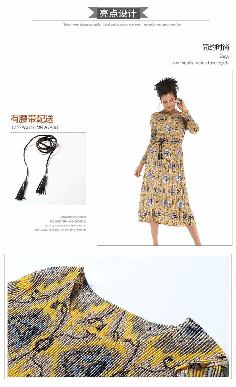 The Best Medium and Long Style with Porcelain Flower Dress Chiffon Skirt Online - Source Silk