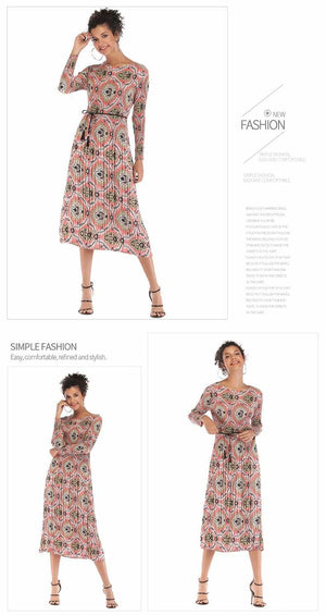 Buy Cheap Medium and Long Style with Porcelain Flower Dress Chiffon Skirt Online - Hplify