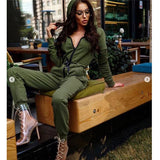 Buy Cheap New Fashion Women Jumpsuit Long Sleeve High Waist Jumpsuit Hoodies Street Wear Drawrsing Jumpsiut Romper Long Trousers Online - Hplify