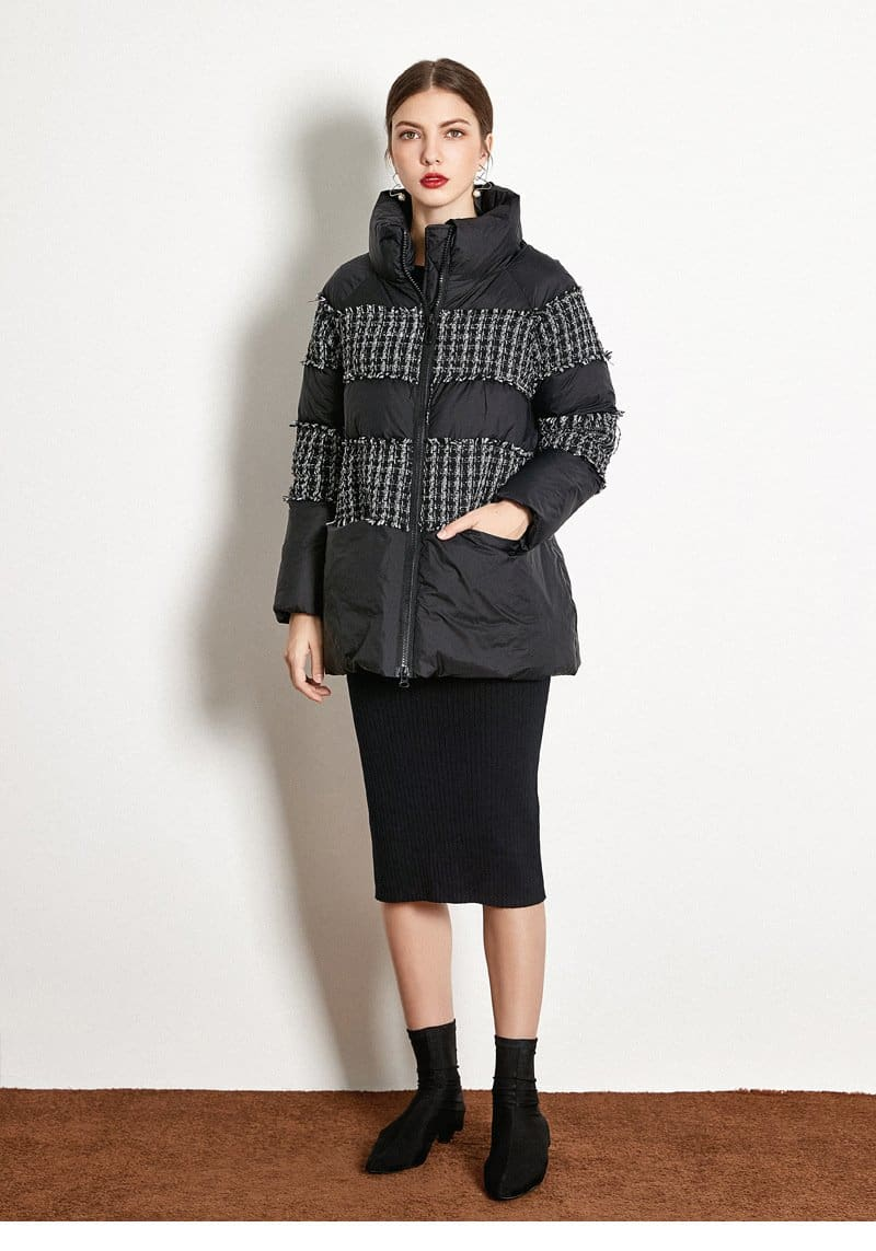 Buy Cheap Short Stitching Down Jacket Online - Hplify